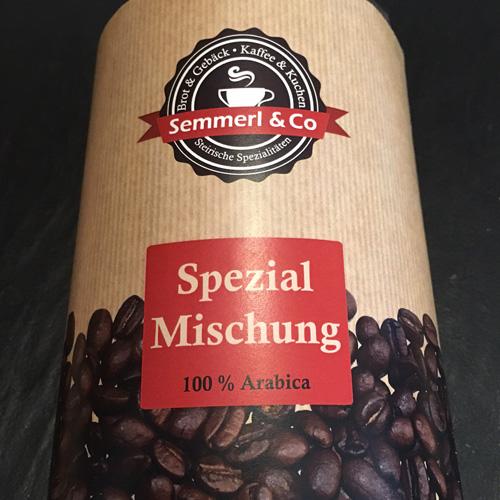 Kaffee - Semmerl Spezialmischung